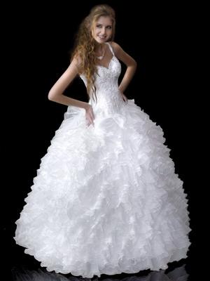 Самые красивые свадебные платья 2015