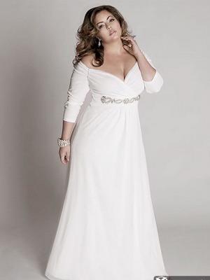 844a7b3fc7b Для невест с пышными формами в этом сезоне есть несколько совершенно  ошеломительных вариантов свадебных платьев 2019