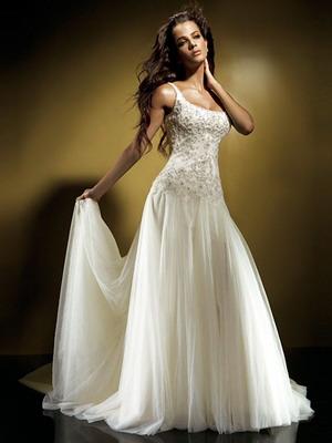 свадебные платья - фасоны