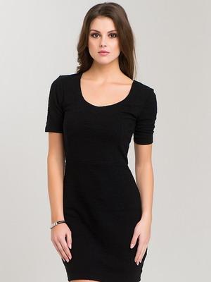 короткие черные платья фото