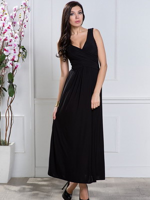Фото девушек в вечерних черных платьях