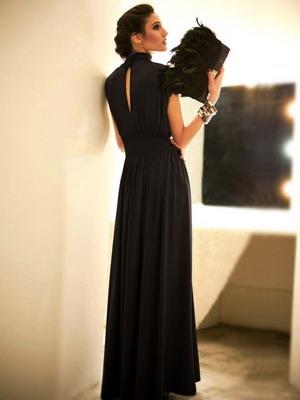 Бальные платья чёрного цвета