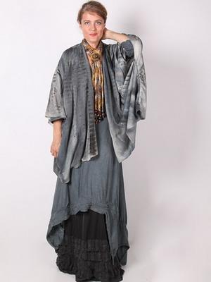 Вязание в стиле бохо для полных женщин 819