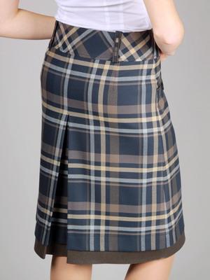 699ca536fd5d Женские модные юбки 2019: фото моделей в клетку, макси, зимние тенденции