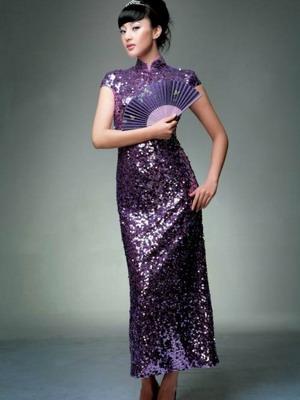 Женские китайские платья
