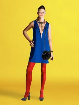 Желто синие платье фото