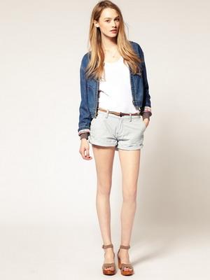 Модные женские шорты на фото