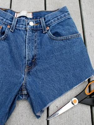 шорты рваные фото