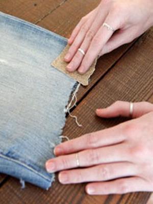 Юбка из джинсов короткая как сшить