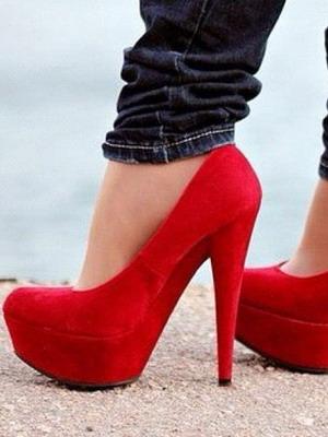 Замшевые туфли  с чем носить красивые замшевые туфли на каблуке ... 1424a1f51a6bb