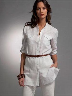 Как сшить женскую рубашку-тунику 97