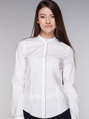 72d4128108d Стильные белые женские рубашки на 2019 год  фото модных и красивых моделей