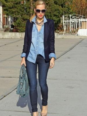 80e4558b1c5 Женские джинсовые рубашки на 2019 года  фото модных моделей