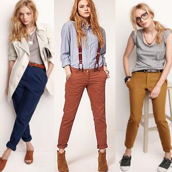 Стильные молодежные модели женских брюк для девушек: фото и описание