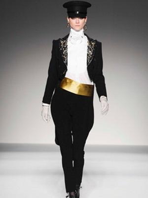 Женский костюм фрак