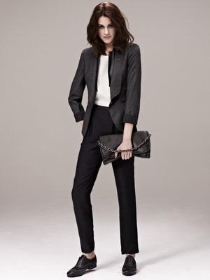 черные брюки фото женские