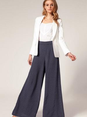 Классические женские брюки юбка