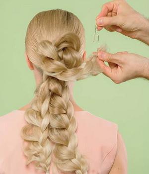 Плетем косы своими руками фото