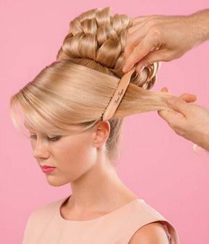Делаем прически своими руками на средние волосы