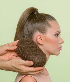 Как сделать валик из волос своими руками