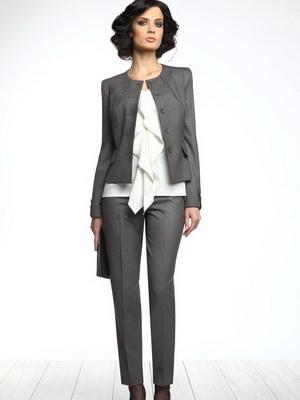 фото деловой костюм для женщины