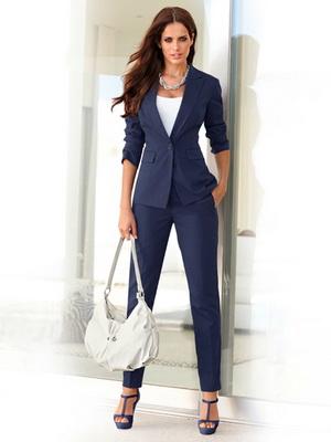 174d61d202281db Деловой костюм для женщин: фото, модный фасон, деловой стиль и дресс ...