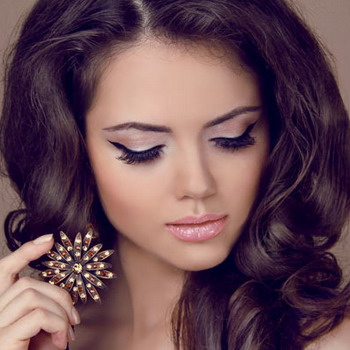 Как сделать вечерний макияж в домашних условиях для зеленых глаз 54