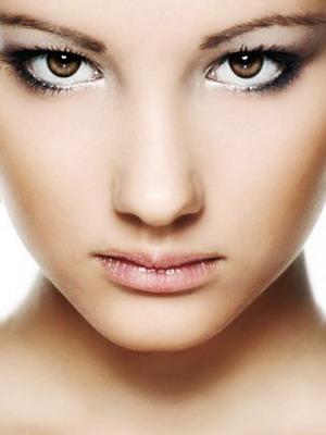 Коррекция лица с помощью макияжа