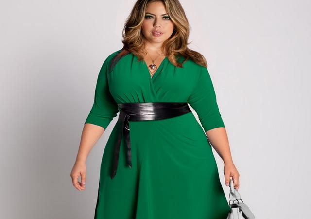 Какое платье одеть полной девушке