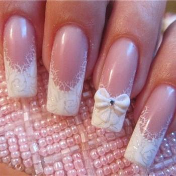 Лепка на ногтях дизайн