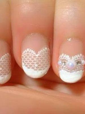 Свадебный дизайн ногтей: пошаговые фото и видео дизайна ногтей на свадьбу невесте
