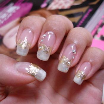 Дизайн ногтей перламутровый фото