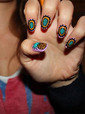 Идеи и варианты росписи ногтей пошагово в видео уроках и на фото изоражения