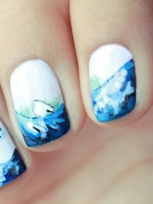 Дизайн ногтей фото летние