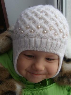Фото вязанных детских шапок