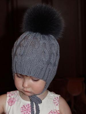 детские шапки для зимы 2019 фото стильных детских шапок вязаных и