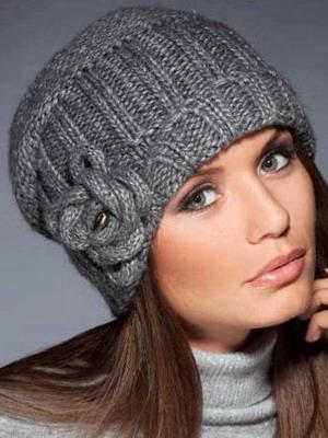 Мода 2015 года: вязаные шапки