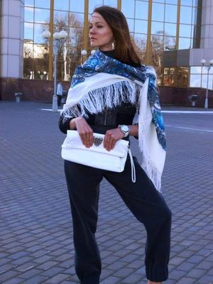Шаль 2018: фото модных шалей и описание моделей