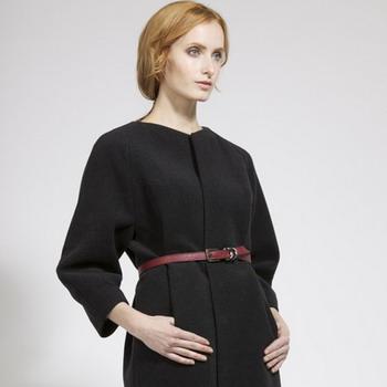 0801-01 Пальто реглан 2019 и фото женских пальто с модным рукавом реглан