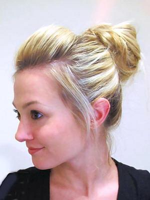 Женские повседневные прически на средние волосы