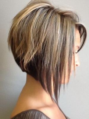 Фото причесок на средние волосы с челкой