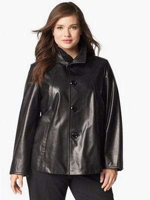 фасон женской кожаной куртки