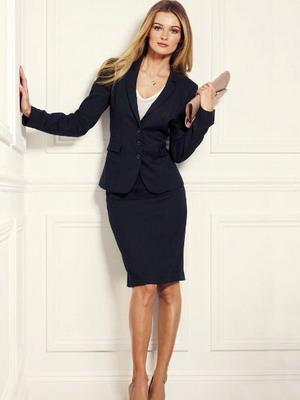 Дорогой деловой женский костюм
