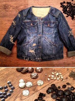 Модная куртка своими руками (фото)