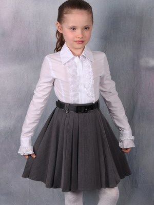 Фото детских школьных юбок