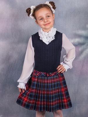 Школьные Блузки Для Девочек Цвет Вишня