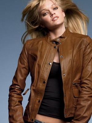 3c87c7e0501 Женские кожаные куртки на осень 2019 и фото стильных моделей курток ...