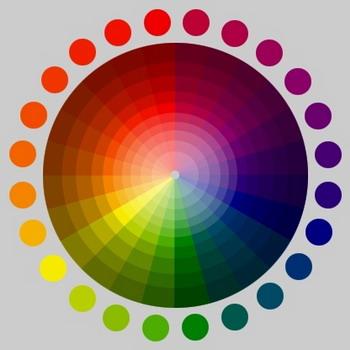Сочетание цветов. Цветовой круг 81