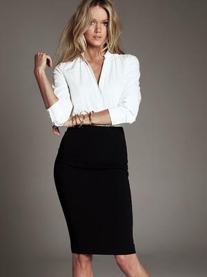 Как правильно носить юбки с блузками