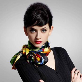 3108-01 Как завязать платок на шее разными способами и как красиво повязать шарфик на плечах